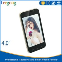 4 inch cheapest custom android smart Phone 3G mobile phone