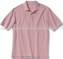 Cotton Knitted Pique Polo Shirt