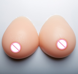 China gold supplier customized size realistic silicone transgender boobs