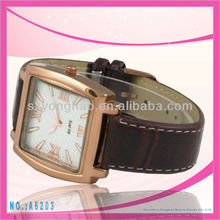 great promotion for last half month smart watch cheap watches polo Custom Dial Leather Strap Watch
