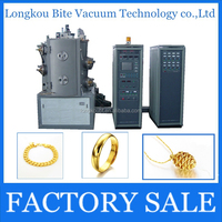 jewellery multi-arc ion 18K 24K imitation jewelry gold plating machine/necklace gold plating equipment