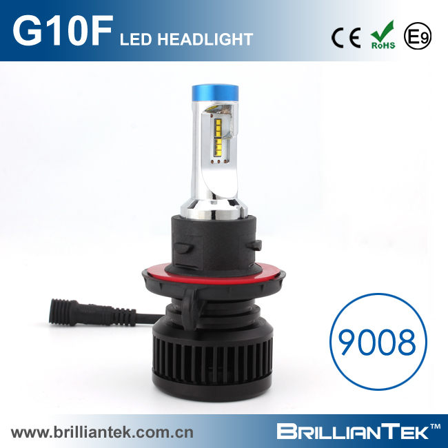 38mm Small Size Emark Approval Z ES Head Lamp 9008 9004 9007 HB2 H4 Hi Lo Beam Car LED Headlights Bulbs