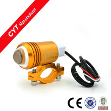 15 w 12 v led blanco light u1 led headlight para motocicleta luz antiniebla/oro
