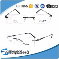 Brand Classic 100% Pure Titanium Reading Glasses