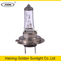 Newest design top quality h7 car 12v 55w halogen headlight bulb