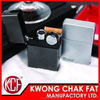KCF-198 Electronic Rechargeable Cigarette Metal USB lighter