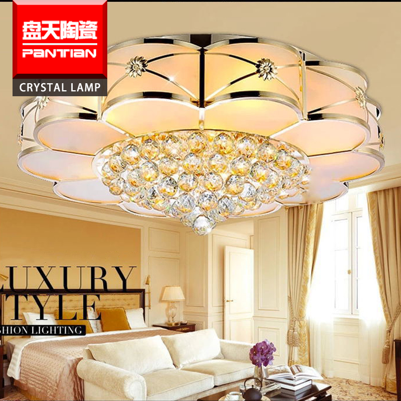 Modern led lighting lamps Large Crystal Chandelier With CE Certificate light and lighting lamp