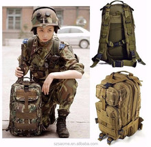 Hiking Trekking Camo Army Camouflage Survival Waterproof Tactical Military Backpack