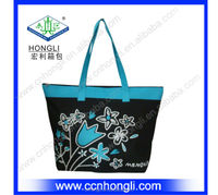 Very cheap new hot woman canvas handbags flower bags in many styles lady bags