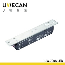 12v Fail Safe Glass Door Electric bolt lock WITH LED UW-700A LED