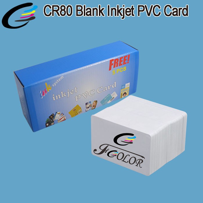 Printing Machine L800 Auto Inkjet PVC Card Printer for 100 PCS ID Card