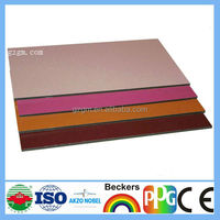 PVDF / PE/ PET Color Coated,High Qulity, Wall, Fireproof Aluminium Composite Panel Sheet