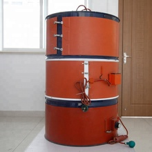 Hightop high quality silicone rubber drum <strong>heaters</strong> for 200 litre metal drums