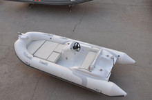 Liya 14 feet inflatable dinghy tender motor boat made in china