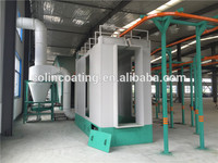 Plastic powder recycling machine powder coating paint booth