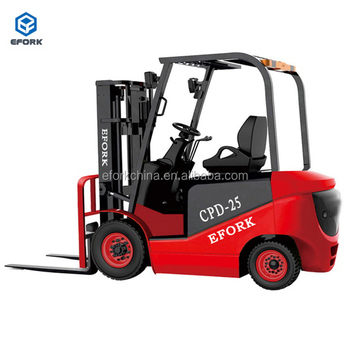 4 Wheel Counterbalance Electric Forklift Truck for 2 ton to 5 ton