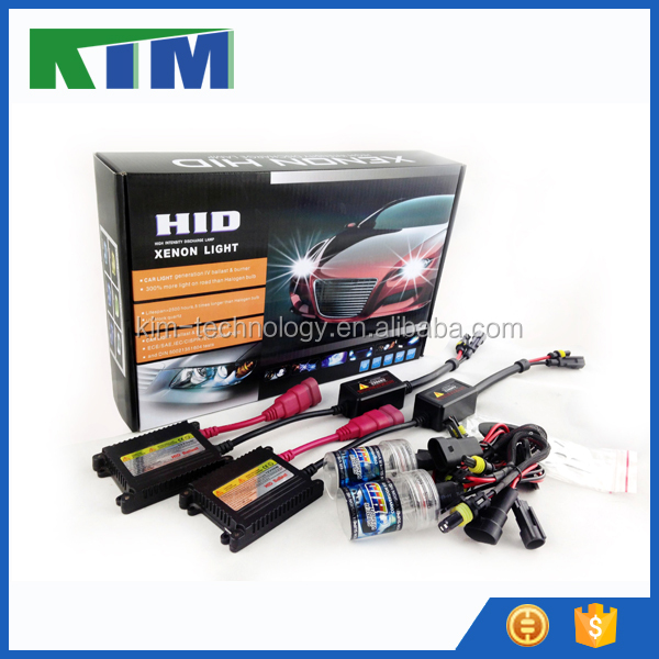 KIM wholesale 12v 35w ac dc xenon hid kit for xenon single bulbs