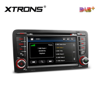 XTRONS PDAB71A3A Built-in DAB+ Tuner multimedia gps navigation system car radio for audi A3 8P/S3 8P/RS3 Sportback