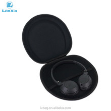 Custom clamshell style case headphone with zipper shockproof eva headset case