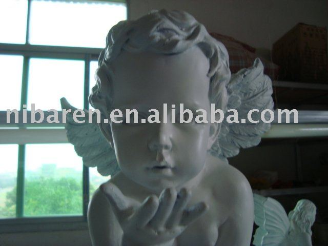 any material angel sculpture for artifact
