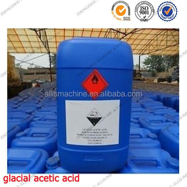 Leather and textile chemicals glacial acetic acid 99%