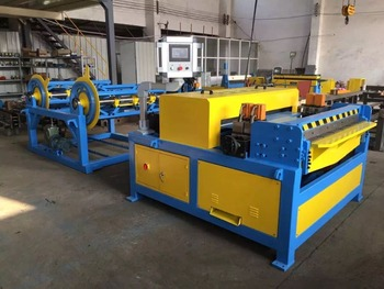 Duct manufacture auto line\square air duct production line\rectangular production line 3