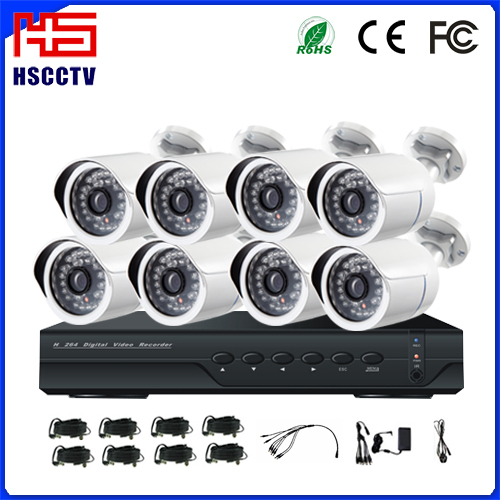 Outdoor Weatherproof AHD Cameras Security System Complete Cctv Set
