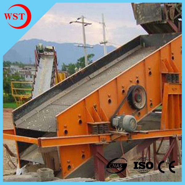 2 Layers Construction Vibrating Screen Sieve Machine for Minerals Coal SZZ1500*3000