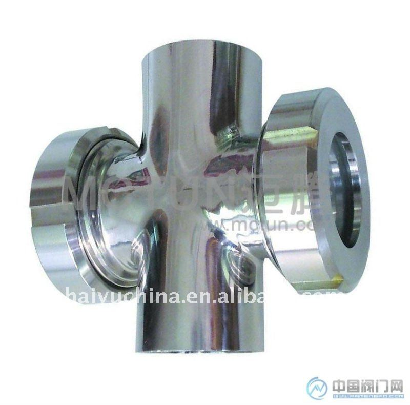 Cross Sight Glass, Sanitary Sight Glass, Welded Cross Sight Glass