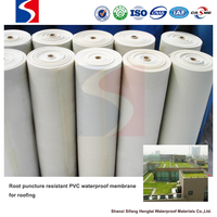 PVC waterproof membrane for sloping roof