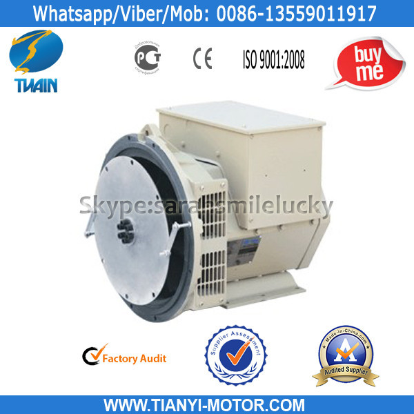 Tianyi Quality Brushless Single Phase Alternator
