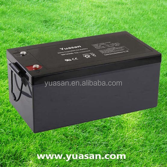 Super Quality Long Life Rechargeable VRLA 12V 260AH Sealed Lead Acid Gel AGM Battery -NPG260-12