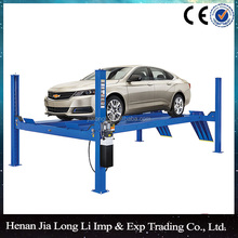 The new used 4 post car lift for sale and garage workshop equipment with CE