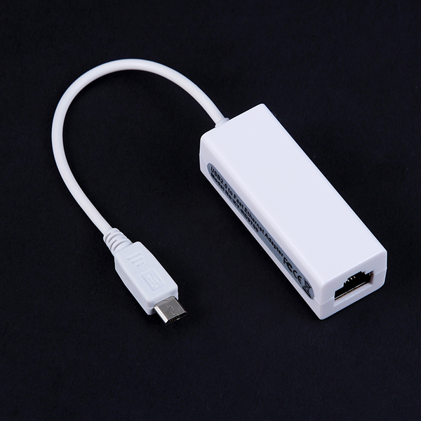 10/100Mbps ethernet adaptor RTL8152B chipset micro usb to rj45 for Samsung