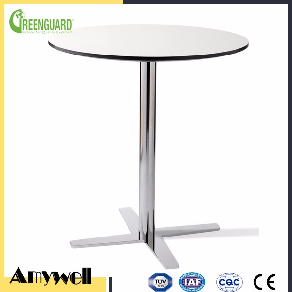 Amywell High density waterproof compact HPL round dining table top