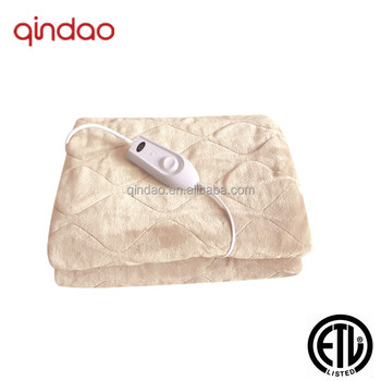 ETL Approved Throw Electric Heating Blanket,Heated Throw