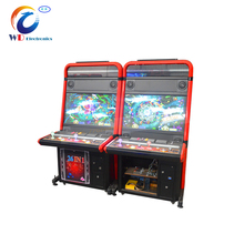 Two players fish skill game gambling machines game fish game table for casino room