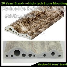 Interior Decoration High-Tech Stone Artificial Marble Mordern Baseboard Stone Moulding
