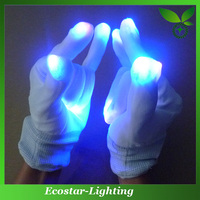 Multi-color LED Flashing Gloves for Christmas Decoration