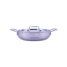 New Product 2018 style discovery non-stick double handle fry pan cookware