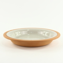 Offwhite Stoneware Ceramic Soup <strong>Plate</strong>