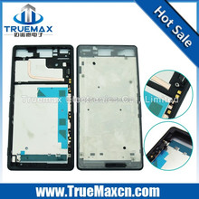 High quality and wholesale spare parts for sony Z3 front frame