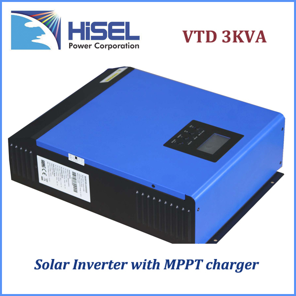 HiSEL off-grid high frequency 3000VA SOLAR INVERTER