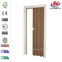 32 in. x 80 in. Woodbridge Nutmeg Accordion Door