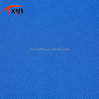 100% Polyester Performance Knit Fabric Plain Dyed Interlock Knitted Fabric For Outdoor