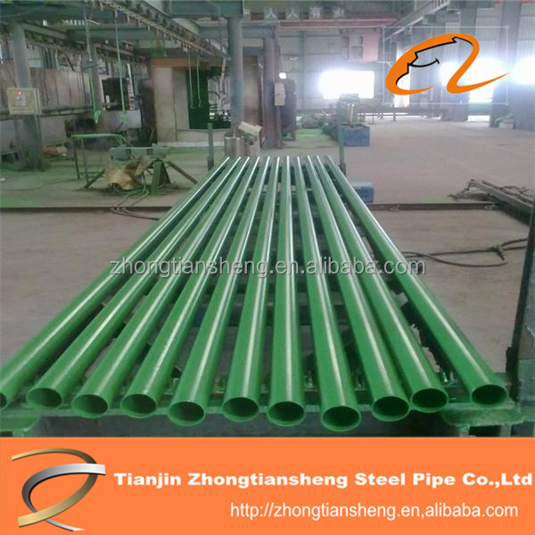PE/EP Plastic Coating Steel Pipe with good mechanical property
