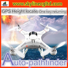 GPS height locate Radio control outdoor quad helicopter with 12MP HD camera