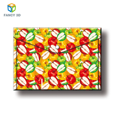 Zebulun Office Stationery PP 3D Lenticular Picture Plastic File Folder With Custom Logo