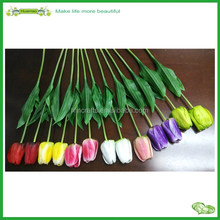 69cm PVC Real Touch Tulip Spray Artificial Flower