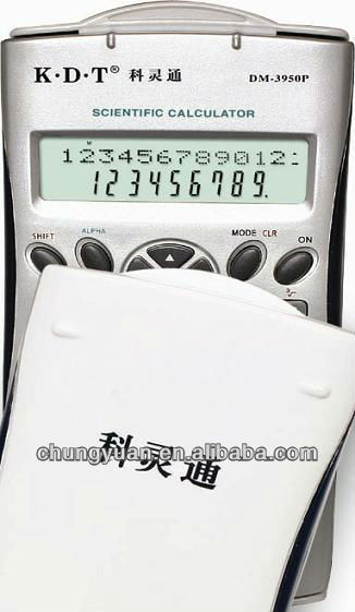 12 digits calculator watch for kids with two line LCD display DM-3950